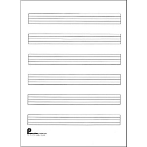Music-Sales-Writing-Pad--15-6-Stave-Extra-Wide--40-Shts--8X10-5-Standard