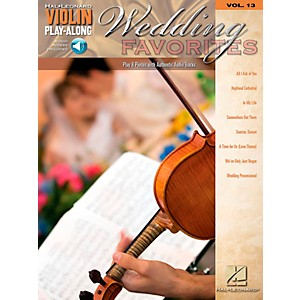 Hal-Leonard-Wedding-Favorites---Violin-Play-Along-Volume-13-Book-CD-Standard