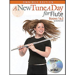 Music-Sales-A-New-Tune-A-Day-Flute-Omnibus-Book-2CD-s-Standard