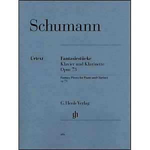 G--Henle-Verlag-Fantasy-Pieces-For-Piano-And-Clarinet--Or-Violin-Or-Violoncello--Opus-73-By-Schumann-Standard