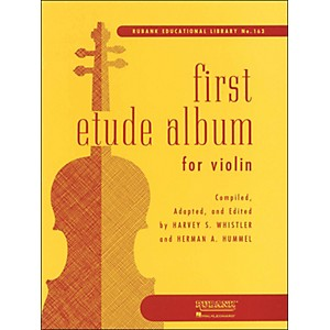 Hal-Leonard-First-Etude-Album-For-Violin-First-Position-Standard