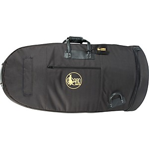 Gard-Mid-Suspension-Large-20--Bell-Tuba-Gig-Bag-64-MSK-Black-Synthetic-w--Leather-Trim