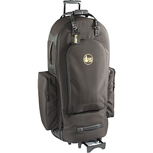 Gard-4-4-Large-Frame-Tuba-Wheelie-Bag-64-WBFSK-Black-Synthetic-w--Leather-Trim