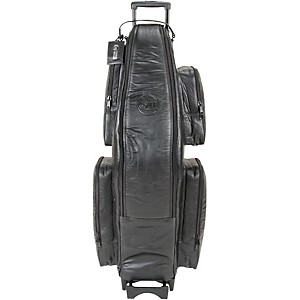 Gard-Low-Bb-Baritone-Saxophone-Wheelie-Bag-107-WBFLK-Black-Ultra-Leather