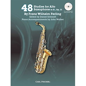 Carl-Fischer-48-Studies-for-Alto-Saxophone-in-Eb--Op--31-Book-CD-Standard