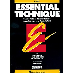 Hal-Leonard-Essential-Technique-For-French-Horn---Intermediate-To-Advanced-Studies-Standard