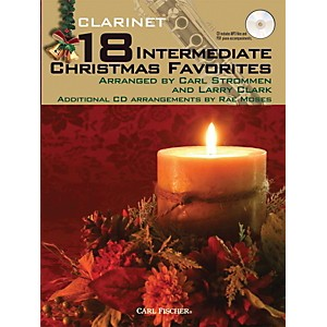 Carl-Fischer-18-Intermediate-Christmas-Favorites---Clarinet-Book-CD-Standard
