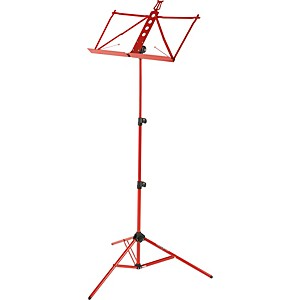 Strukture-Aluminum-Music-Stand-Red