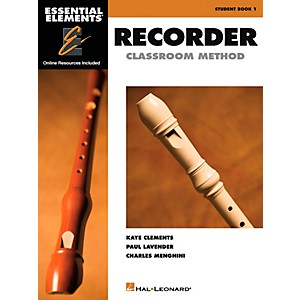 Hal-Leonard-Essential-Elements-For-Recorder-Book-CD-Pack-Standard