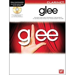 Hal-Leonard-Glee-Intrumental-Play-Along-for-Clarinet--Book-CD--Standard