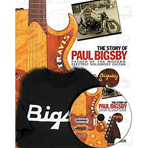 Hal-Leonard-The-Story-Of-Paul-Bigsby-Book-CD-And-T-Shirt-Package-Standard