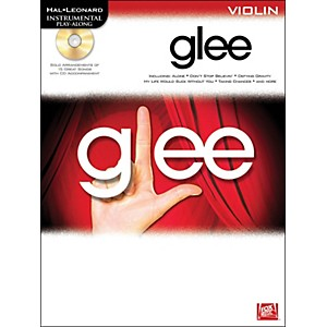 Hal-Leonard-Glee-For-Violin---Instrumental-Play-Along-Book-CD-Standard