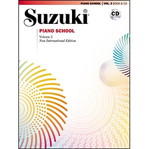 Suzuki-Suzuki-Piano-School-New-International-Edition-Piano-Book-and-CD-Volume-2-Standard