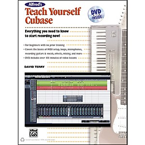 Alfred-Alfred-s-Teach-Yourself-Cubase-Book---DVD-Standard