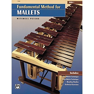 Alfred-Fundamental-Method-for-Mallets-Book-1-Standard