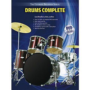 Alfred-Ultimate-Beginner-Series-Drums-Complete-Book---DVD-Standard