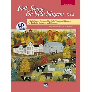 Alfred-Folk-Songs-for-Solo-Singers-Vol--2-Standard