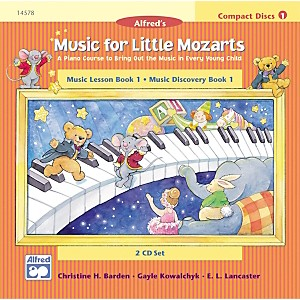 Alfred-Music-for-Little-Mozarts-CD-2-Disc-Sets-for-Lesson-and-Discovery-Books-Level-1-Standard