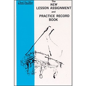 Alfred-New-Lesson-Assignment-and-Practice-Record-Book-Standard