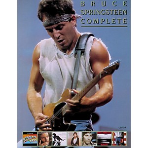 Alfred-Bruce-Springsteen-Complete-Guitar-Vocal--Chords-Standard