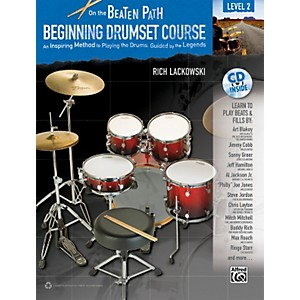 Alfred-On-the-Beaten-Path-Beginning-Drumset-Course-Level-2-Book---CD-Standard