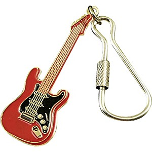 AIM-Electric-Guitar-Keychain-Red