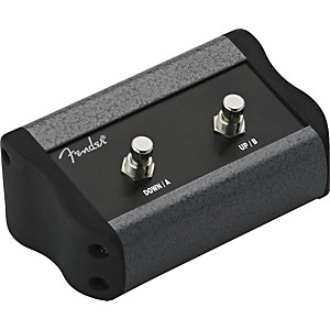 Fender-2-Button-Footswitch-for-Mustang-Amps-Black