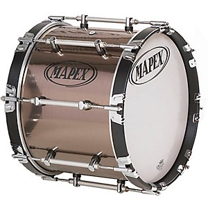 Mapex-Quantum-Marching-Bass-Drum-Gloss-Black-14x14