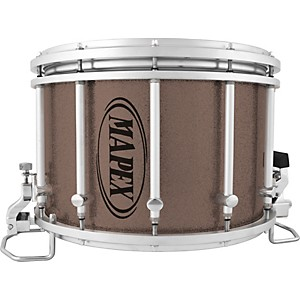 Mapex-Quantum-Agility-Marching-Snare-Drum-Gray-Steel-14x10