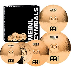 Meinl-Classics-Custom-Medium-Cymbal-Set-with-Free-18-Inch-Crash-Standard