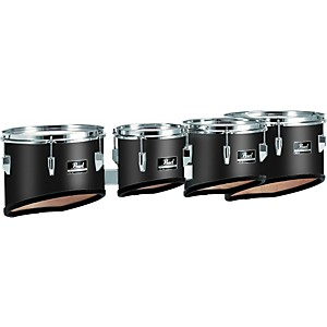 Pearl-Competitor-Marching-Tom-Set--46-Midnight-Black-8-10-12-13-set
