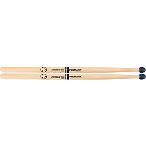 Pro-Mark-Scott-Johnson--Sco-Jo--System-Blue-Rubber-Tip-Practice-Sticks-Standard