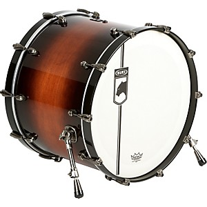 Mapex-Black-Panther-Blaster-Bass-Drum-Walnut-Burst-24x18