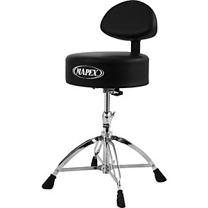 Mapex-Mapex-Four-Legged-Double-Brace-Throne-With-Adjustable-Back-Rest-Standard