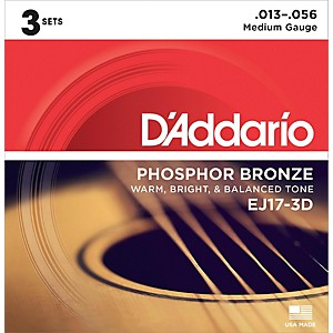 D-Addario-EJ17-Phosphor-Bronze-Medium-Acoustic-Strings--3-Pack--Standard