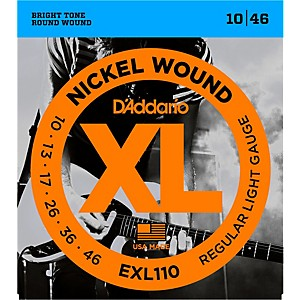 D-Addario-EXL110-Nickel-Wound-Light-Electric-Guitar-Strings-Single-Pack-Standard