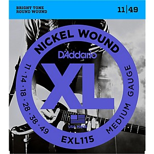 D-Addario-EXL115-Nickel-Blues-Jazz-Electric-Guitar-Strings-Single-Pack-Standard