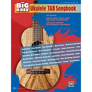 Alfred-The-Big-Easy-Ukulele-TAB-Songbook-Standard