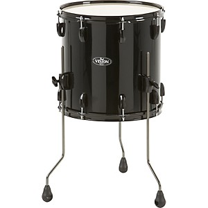 Pearl-Vision-Birch-Floor-Tom-Jet-Black-14x14