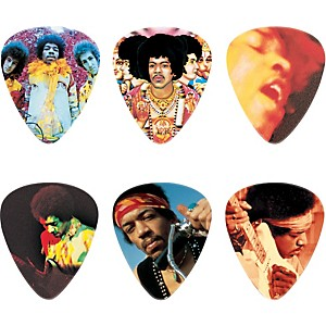 Dunlop-Jimi-Hendrix-Montage-Pick-Tin-with-6-Heavy-Picks-Standard