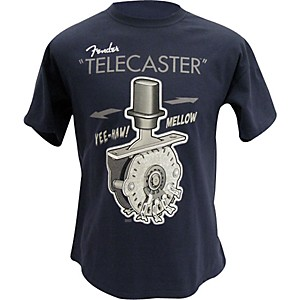 Fender-Telecaster-Switch-T-Shirt-Navy-Small