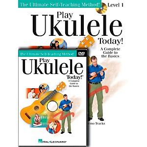 Hal-Leonard-Play-Ukulele-Today--Beginner-s-Pack--Book-CD-DVD--Standard