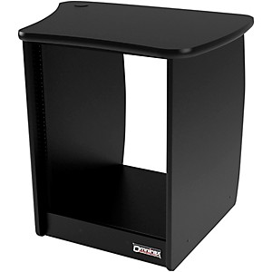 Omnirax-OM13R-13-Rackspace-Cabinet-for-the-Right-Side-of-the-OmniDesk---Black-Standard