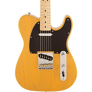 Fender-FSR-Standard-Ash-Telecaster-Electric-Guitar-Maple-Fretboard-Butterscotch-Blonde