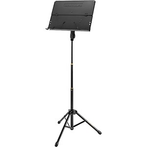 Hercules-Stands-3--Section-Orchestra-Stand-Folding-Desk-with-page-retainers