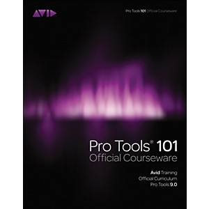 Course-Technology-PTR-Pro-Tools-101-Version-9-0-Official-Courseware-Book---DVD-Standard