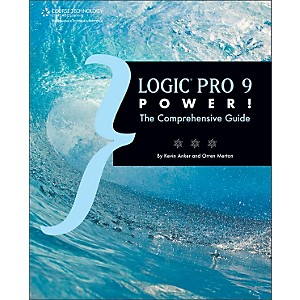 Course-Technology-PTR-Logic-Pro-9-Power--The-Comprehensive-Guide-Book-Standard