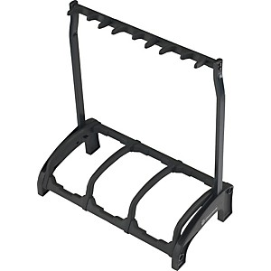K-M-Guardian-3-Guitar-Stand-Rack-style--3-Guitars--Black