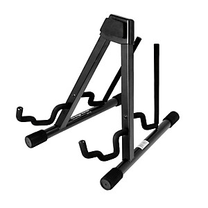 On-Stage-Stands-Professional-Double-A-Frame-Guitar-Stand-Black