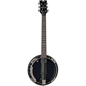 Dean-Backwoods-6-Banjo-w-Pickup---Black-Chrome-Black-Chrome